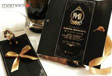 The Great Gatsby Invitation by Memento Idea