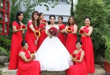 Norman & Suy Wedding by New Fashion Creation by Evelyn Guerrero