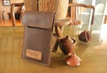 Leather Handphone case by Leatherland