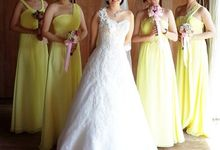 Brides and bridesmaids projects by Anita Cynthia Couture
