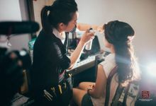 Make up process by AGnes cha