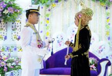 Winda and Husni by Az-zahra Professional Wedding Services
