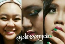 Makeup Portfolio by mua dithaangelin(dancer & eo)