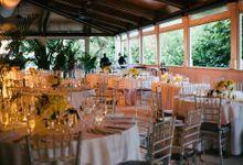 Decoration by I Do, Something Blue Wedding & Event Planning