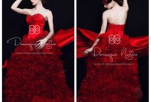 Pre Wedding Gown and Dress by Dominique Nadine