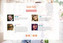 Wedding Homepage Templates by CR Web Design Studio