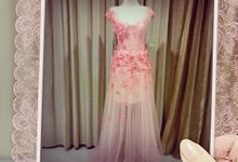 Gold and peaches by VON BRIDAL