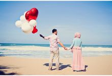 Adit & Ayu Prewedding Album by ridzkysetiaji photo