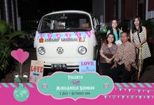 The Weddng of Yulianto & Amy by Twotone Photobooth