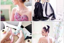 Photoshoot for Duedate_ve - prewedding gown rental by Odette