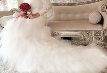 Crown, dress & wedding shoes  by De Carat Blessed Bridal & Wedding Accessories