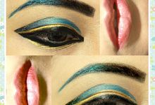 Art makeup by Therecia Debby Makeupart