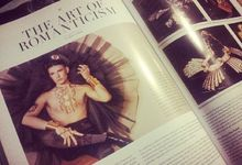 Editorial Fashion TV magazine Indonesia with Mishka-Piaf, californian Jewelry designer by Sano Wahyudi Photography