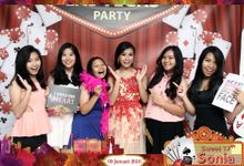 Sonia Sweet 17th Las Vegas Party by Little Panda Photobooth