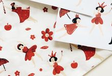 Silk Screen Souvenirs by Kelly's Wrapping Paper