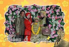 the wedding of Tyas & Thea by HELLOCAM PHOTOCORNER