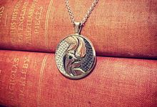YinYang Swan Pendant by Bernardo & Co.