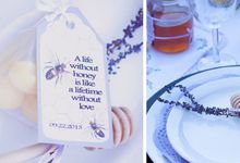 Honey+Lemon lover bridal shower  by L&A Event Designs