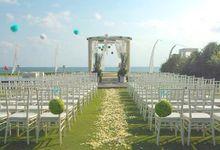 Vina & Daniel Wedding by eight on its side