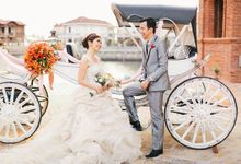 Destination Wedding at Bataan - Kat and Khel Wedding by Southern Springs Film and Photography Collective