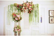 Hermitage Hotel Wedding by Fleuri