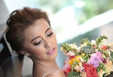 Weindrich & Christel Wedding by Melody Tinoy Makeup Artist