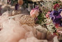 Soft Purple & Lavender Decoration Wedding by Bali Izatta Wedding Planner & Wedding Florist Decorator