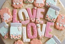 Decorated cookies by Cupkate