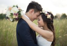 Pre-Wedding of Shaun & Marie by Clara Song Make Up