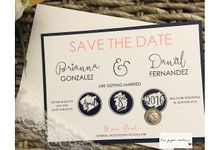 Save the Dates by Love Paper Creations