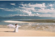 By the beach by Owen and Nikka Wedding Photography