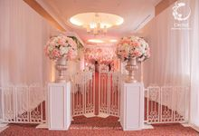 Beautiful Blush by Orchid Florist and Decoration