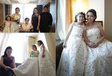 Perrie Ann  Sinio - Robert Joseph Pante Wedding by Magic Touch by Klick Victoria