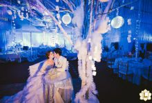 Cathy & Franklin Winter Themed by Bash Grandeur Weddings & Events