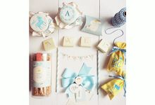 Axel Ananta - Unicorn - First Month Baby Hampers by LE POMMIER { Bespoke Hampers & Paper Goods }