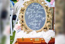 Vintage Wedding  by L&A Event Designs