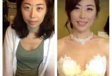 Korean Wedding - Nicholas & Seo Hye Reong by Marsia Yulia Signature. Natural and Korean Make Up Specialist.