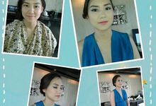 bride, pre wedding, bridesmaid, family by Danti Make Up Artist and Team