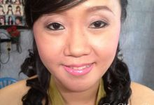 Wedding Party Make Up for Ria by Ren Makeup Artist