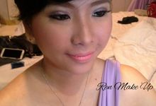 Bridesmaid Make Up for Difa & Felita by Ren Makeup Artist