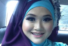 Wedding dik Putri by OCIE Mua
