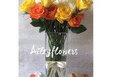 Vase Flowers by Aileyflowers