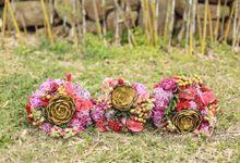 Meet Us Under the Mistletoe by La Belle Fete Weddings and Events