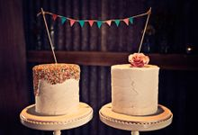 Wedding Cakes in the Hunter Valley by Project Cake