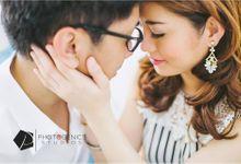 Ching & Ryan E-session by Makeup by Katrina Guzon