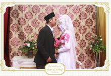 The Wedding of Deni & Windi by Little Panda Photobooth