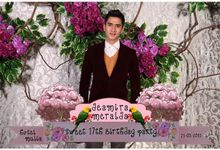 Deamira Meralda Sweet Seventeen Birthday Party by Inspire Photobooth