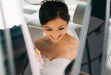 Actual Day Wedding of Sam and Michelle by Susan Beauty Artistry