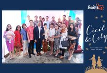 Selvitag at Cicil & Cecil Wedding by Selvitag - Print Selfie from Hastag #instagram