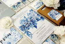 Hydrangea Blossoms Invitation by PurityCard